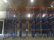 Rayonnage plateforme pour stockage - Par accumulation ou push back