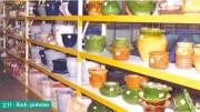 Rayonnage poterie - Stockage de pièces lourdes