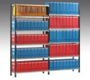Rayonnage pour archives bureau - Hauteurs 175-200-225-250-350 Prof 35-70cm