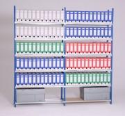 Rayonnage pour archives charge 150 kg par niveau - Capacité de charge par niveau: 150 kg