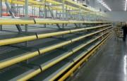 Rayonnage pour convoyage cartons - Capacité de charge : Jusqu'à 40 kg