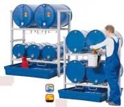Rayonnage pour fûts 1000 kg - W.9857, W.9859