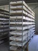 Rayonnage pour pièces de décolletage - Rayonnage métallique Profilplus
