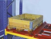 Rayonnage tiroirs charges lourdes - Capacité de charge : De 600 à 1000 Kg