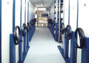 Rayonnage tubulaire hauteur 3000 mm - Pour stockage d'archives