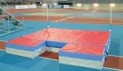 Réception de saut en hauteur - Dimensions : 4 x 3 x 0.50 m