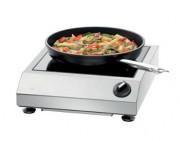 Réchaud à induction 1 zone de cuisson - Diamètre de la zone de cuisson : 220 mm