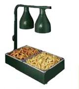 Réchaud de cuisine avec lampe chauffante - Puissance (w) : 544