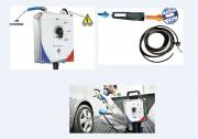 Réchauffeur d'air comprimé autoreglant - Process de peinture optimal - Système breveté.