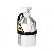 Récipient de sécurité en inox 1 à 5 litres - Capacité de stockage : 1 à 5 litres - Bidons de dosage ou de transport