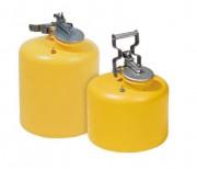 Récipient de sécurité en polyéthylène - Capacité : 11 - 19 Litres