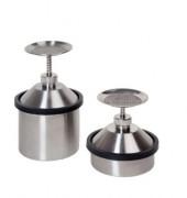 Récipient de sécurité humecteur en inox - Capacité : 1 - 2 Litres