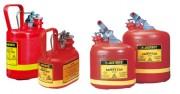 Récipient de sécurité pour liquides inflammables et corrosifs - Capacité : 2 à 19 L