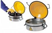 Récipient de sécurité pour nettoyage - Capacité : de 1 à 8 Litres