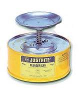 Recipient humecteur de sécurité en acier - Volume : 1 - 2 ou 4 Litres
