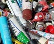 Recyclage aerosol - Capacité:  jusqu'à 200 aérosols