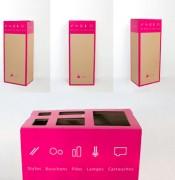 Box de recyclage cartouche - Contenance : 8 kilos de cartouches