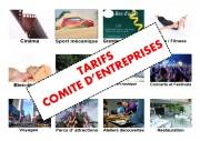 Réductions avantages comité d'entreprise - Plus de 50000 prestations