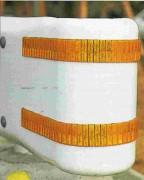 Réflecteur glissière 2,5 m - Dimensions d'un élément : 12 cm x 5 cm (192 éléments)