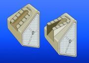 Réflecteurs DRGA-DRGB - Hauteur : 120 mm - Profondeur : 75 mm