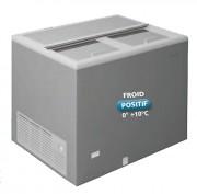 Refroidisseur à boissons en acier inox - Capacité brute : 304 à 470 litres - Froid positif : 0° +10°C - Nombre de porte : 3 à 4 portes