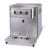 Refroidisseur d'eau à poser inox - Inox - Débit : de 65 à 180 L/H - 2 ou 3 sorties d'eau