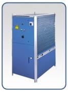 Refroidisseur d´eau monobloc - Structure machine en inox 14-160 kW