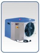 Refroidisseur d´eau monoblocs 5,5 kW - Evaporateur coaxial inox 0,5 - 5,5 kW