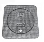 Regard de chaussée pour gaz D 400 - Classe : D 400 - Dimension du cadre : 450 mm