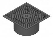 Regard pour boîte de branchement C250 - Classe : C 250 - Dimension extérieur (mm) : 360 x 360