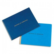 Registre du personnel 24x32 cm 40 pages + garde - Le Dauphin