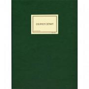 Registre pour enregistrement du courrier départ 150 pages en 25x32cm. Coloris vert SP520 - Elve