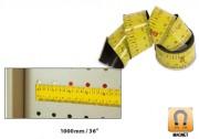 Règle magnétique flexible - Longueur  : 1000 mm - 1000mm/36