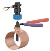 Régulateur commutateur de flux - Plages de température : entre -25  et 100 ° C