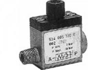 Régulateur flux commande pneumatique - Clapet anti-retour piloté 534