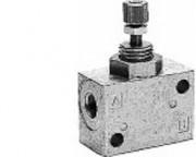 Régulateur flux pneumatique Limiteur de débit - Limiteur de débit  Série CC01