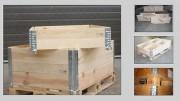 Rehausse bois - Épaisseur : 20 mm