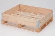 Rehausse bois epaisseur 1,25 mm - 4 charnières galvanisées