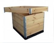 Rehausse bois pliante professionnel - Dimensions : 1200 x 1000 x 200 mm