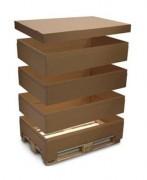Rehausse carton - Pour Palette 1200 x 800