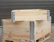Rehausse palette - Epaisseur charnières : entre 1,25 et 2 mm