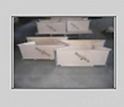 Rehausse palette bois 4 charnières - Hauteurs  : 100, 150, 200, 250, 300 ou 400 mm
