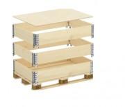 Réhausse palette en bois - Réhausse pour palettes norme NIMP