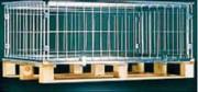 Rehausse palette grillagée 800 Kg - Charge admissible : 800 Kg