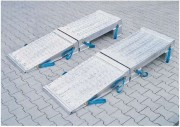 Rehausse pour camion en aluminium - Charge unitaire : de 30000 à 50000 Kg/paire