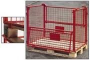 Rehausses métalliques a 2 portes - Avec 2 portes mi-rabattables, 77810