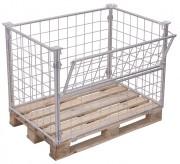 Rehausses palettes galvanisés - Capacité de charge : 750 - 1500 kg