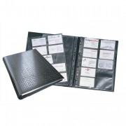Reliure noire pour 400 cartes de visite - Durable