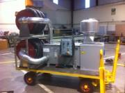 Remorque aspirante autonome - Caisson de filtration mobile autonome