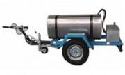 Remorque avec citerne à eau ou à fioul - Capacité 450 L